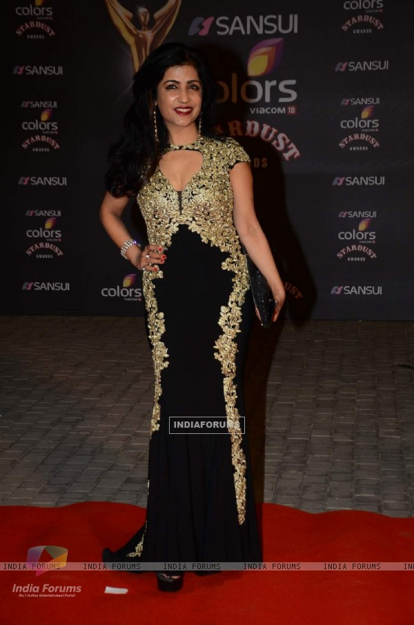Shibani Kashyap at Stardust Awards