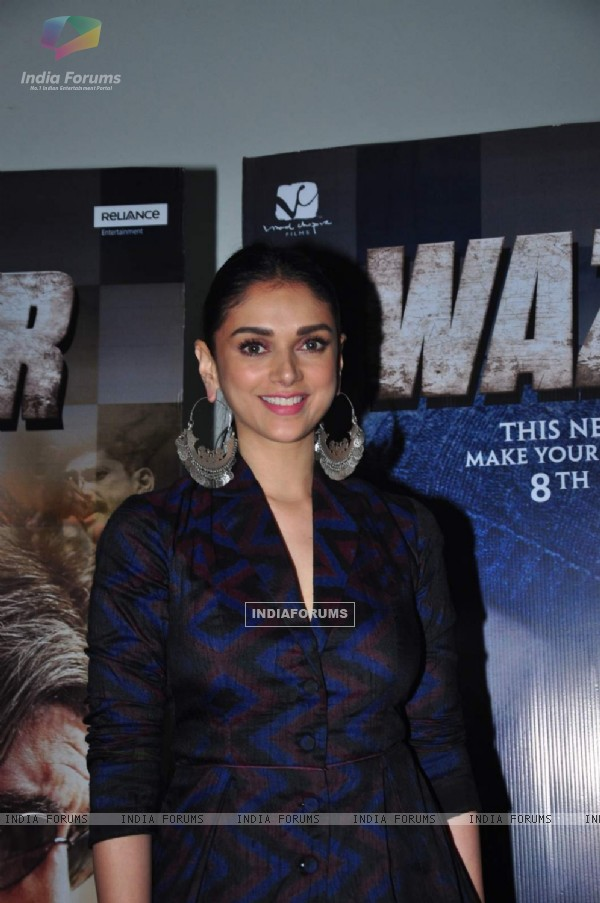 Aditi Rao Hydari at Promotions of 'Wazir'
