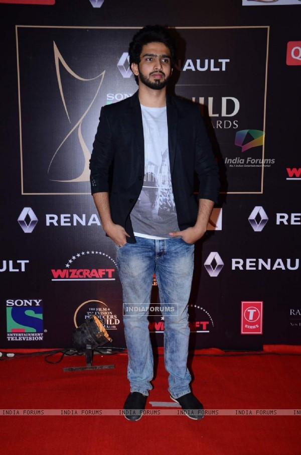 Amaal Mallik at Guild Awards 2015