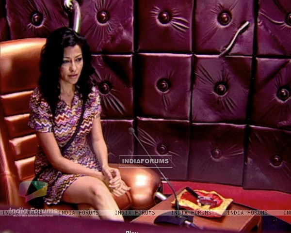 Aditi Gowitrikar in confession room