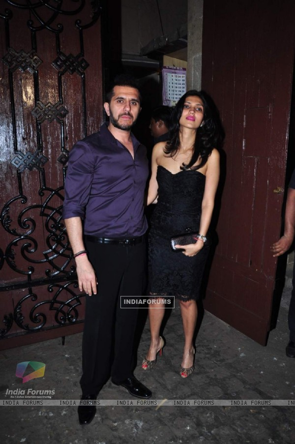 Ritesh Sidhwani and Dolly Sidhwani at Anil Kapoor's Birthday Bash