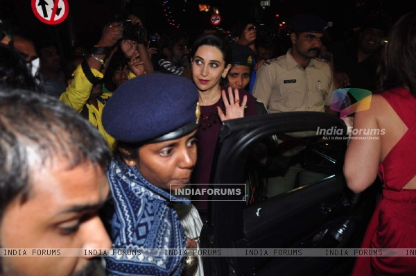Karisma Kapoor was snapped on Christmas Eve