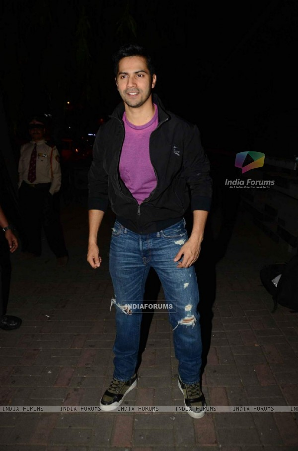 Varun Dhawan at Jackky Bhagnani's Birthday Bash