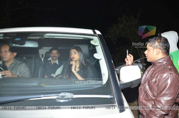 Athiya Shetty at Salman Khan's Birthday Bash