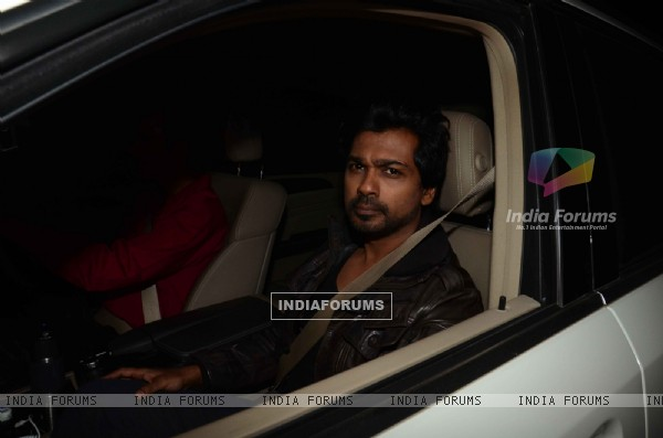Nikhil Dwivedi at Salman Khan's Birthday Bash