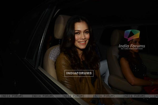 Waluscha D'Souza at Salman Khan's Birthday Bash