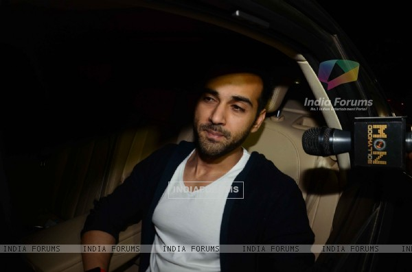 Pulkit Samrat at Salman Khan's Birthday Bash
