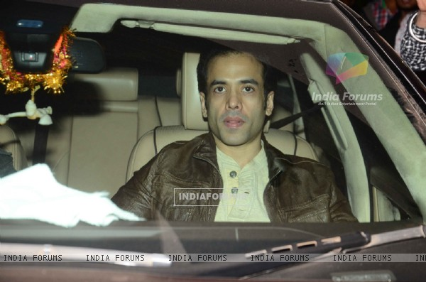 Tusshar Kapoor at Salman Khan's Birthday Bash