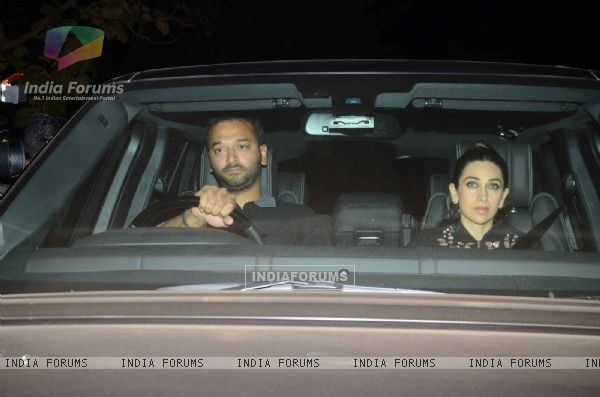 Karisma Kapoor at Salman Khan's Birthday Bash