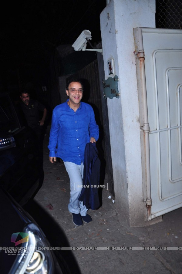 Vidhu Vinod Chopra at Special Screening of 'Wazir'