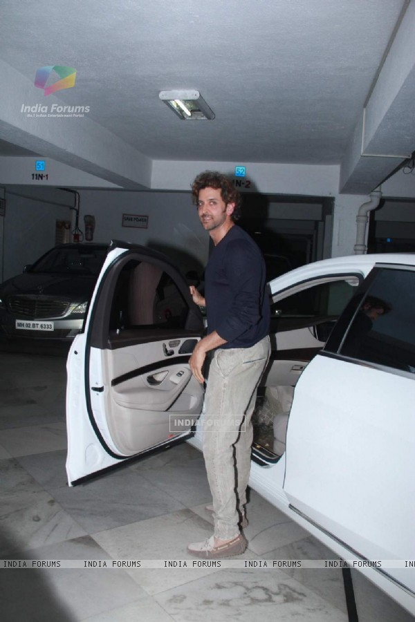Hrithik Roshan at Sameer Nair's Party