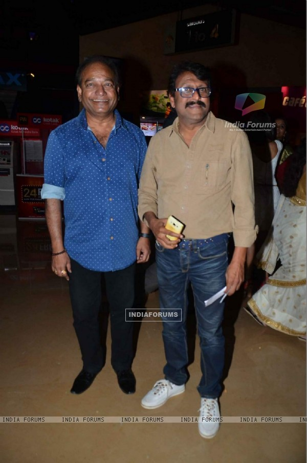 Vijay Patkar at Premiere of Marathi Movie 'Natsamrat'