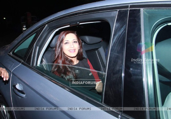 Sonali Bendre at Natasha Poonawala's New Year Bash
