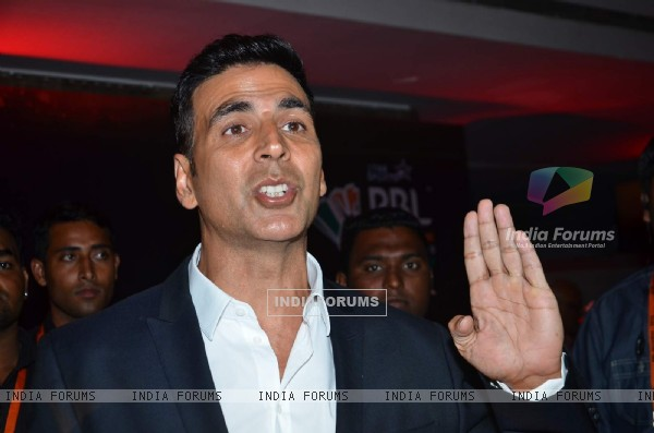 Akshay Kumar at Promotions of Premier Badminton League