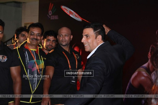 Akshay Kumar at Premier Badminton League Promotional Event