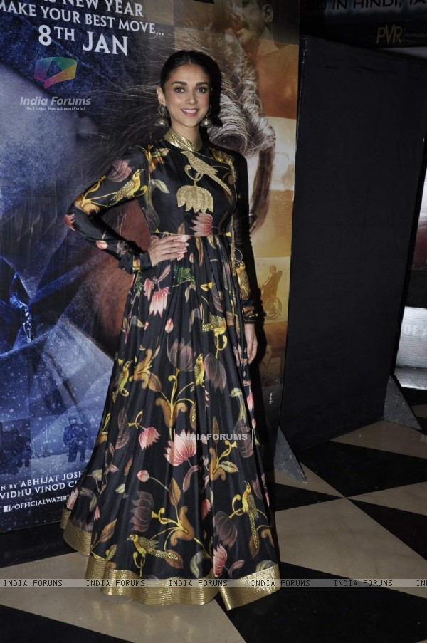 Aditi Rao Hydari at Special Screening of Wazir