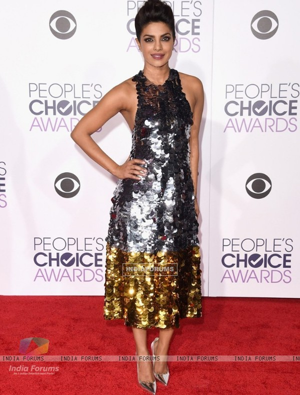 Priyanka Chopra at People's Choice Award 2016