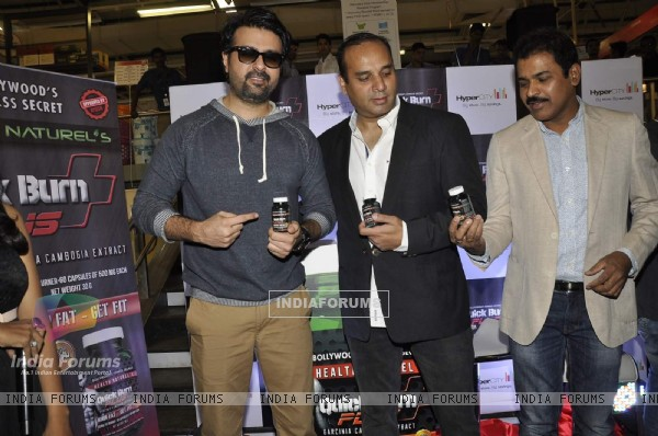 Harman Baweja at the Launch of Protein Powder