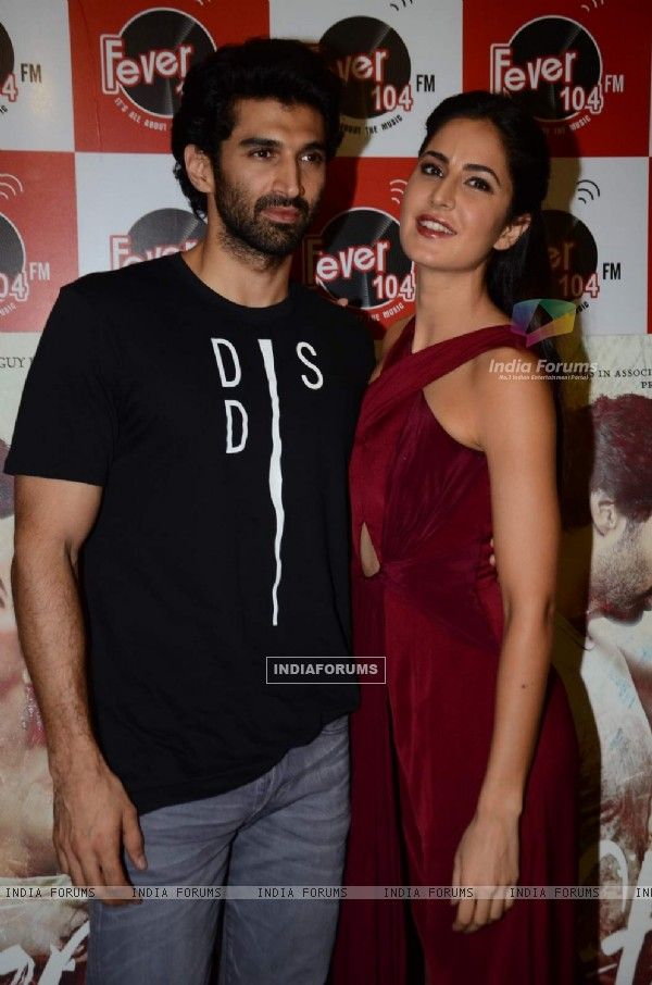 Aditya Roy Kapur and Katrina Kaif at the Promotions of Fitoor on Fever FM
