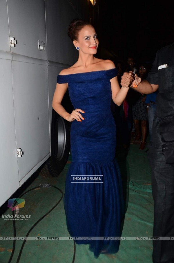 Elli Avram was snapped at the 22nd Annual Star Screen Awards