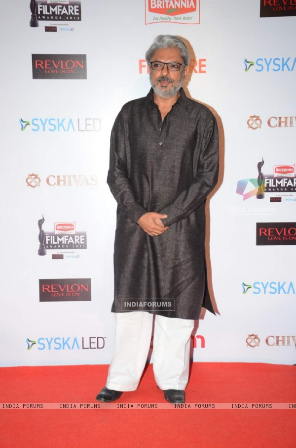 Sanjay Leela Bhansali at Filmfare Awards - Red Carpet