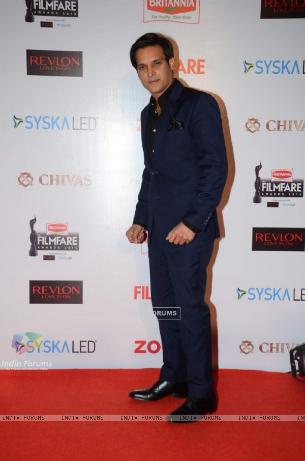 Jimmy Shergill at Filmfare Awards - Red Carpet