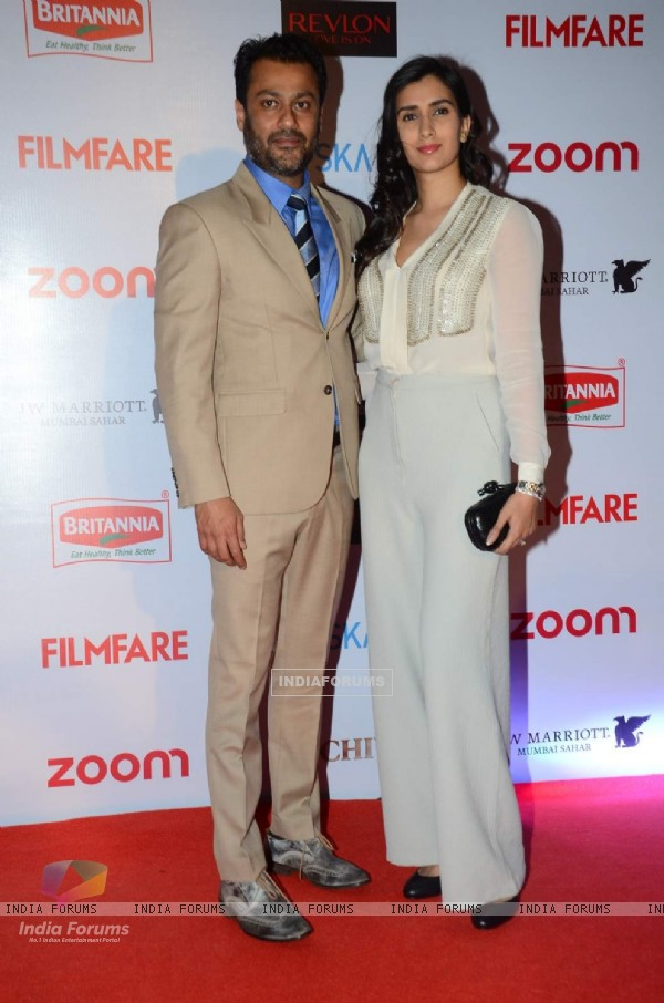Abhishek Kapoor and Pragya Yadav at Filmfare Awards - Red Carpet