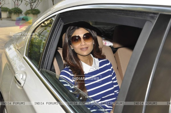 Shilpa Shetty at Farah Khan's Birthday Bash