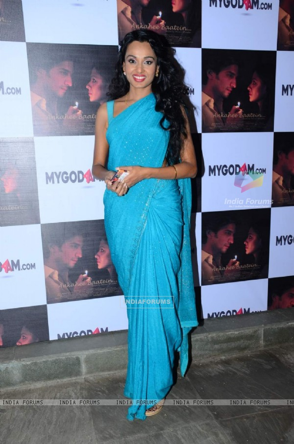 Reshmi Ghosh at Premiere of Short film 'Ankahee Baatein'