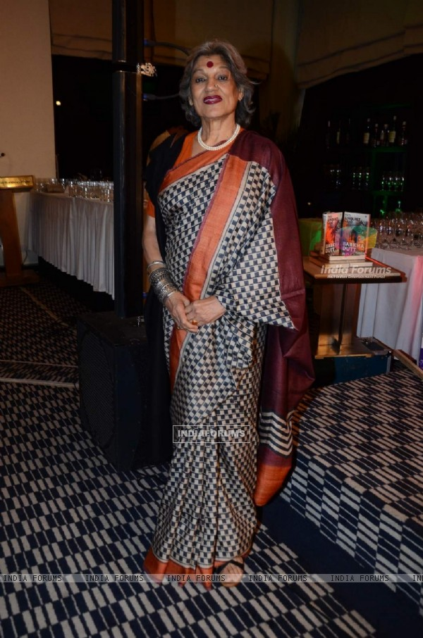 Dolly Thakore was at Bharkha Dutt's Book Launch