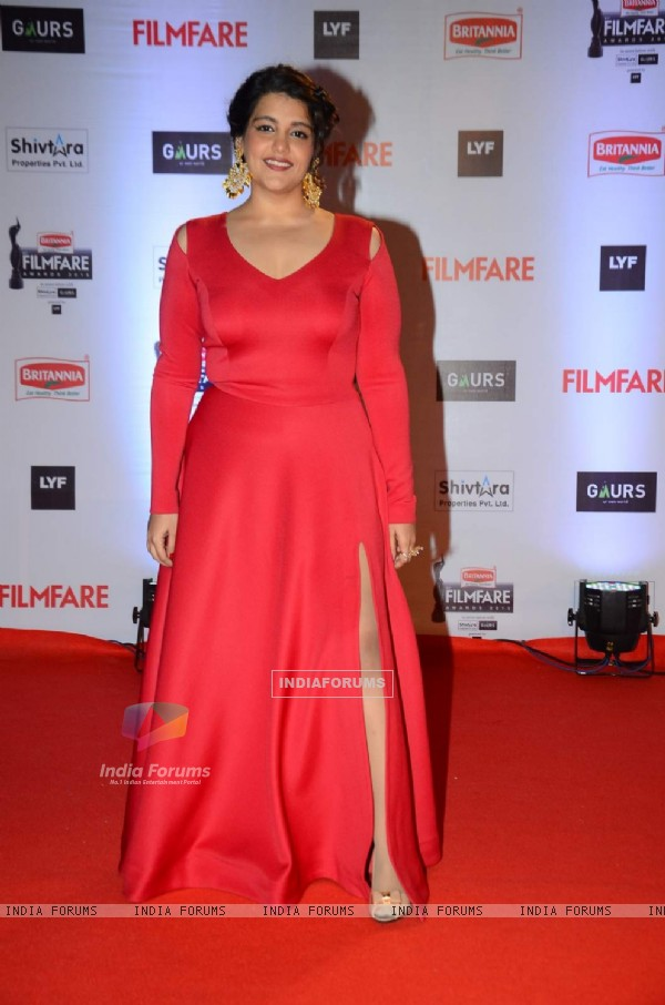 Sanah Kapoor at Filmfare Awards 2016