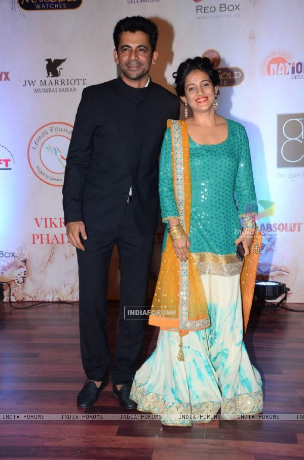 Sunil Grover at Vikram Phadnis' 25th Anniversary Celebration