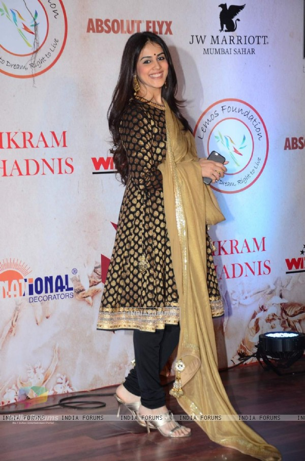 Genelia Dsouza Deshmukh at Vikram Phadnis' 25th Anniversary Celebration