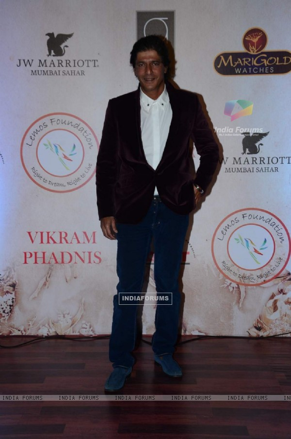 Chunky Pandey at Vikram Phadnis' 25th Anniversary Celebration