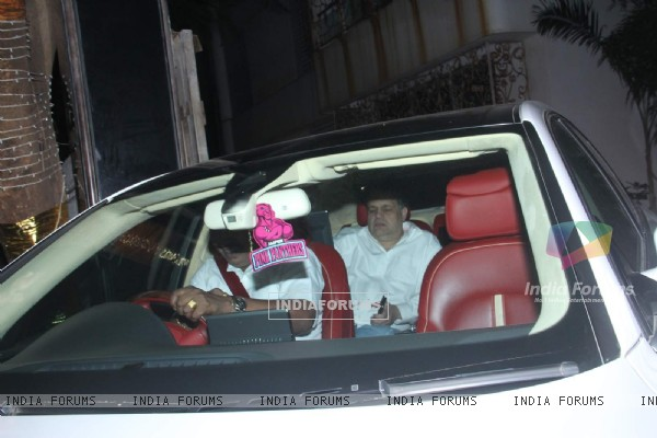 Sandeep Khosla at Akshay Kumar's Bash