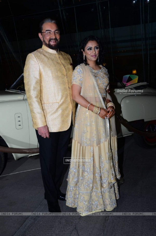 Kabir Bedi marries Parveen Dusanj on his 70th Birthday