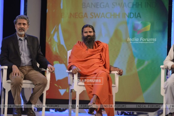 Baba Ramdev at NDTV Cleanathon