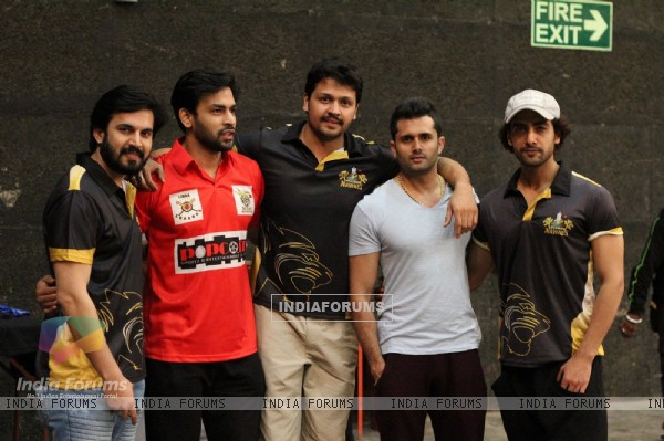 Ajay, Naman, Mohit, Shobhit, Rohit at BCL Season 2 Practise Session