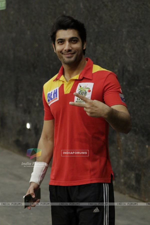 Ssharad Malhotra at BCL Season 2 Practise Session