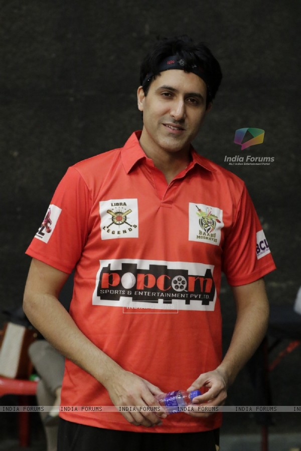 Sumeet Sachdev at BCL Season 2 Practise Session