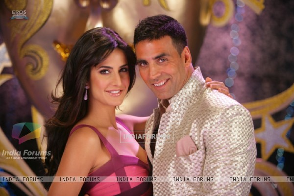 Akshay and Katrina together in De Dana Dan movie (39249)