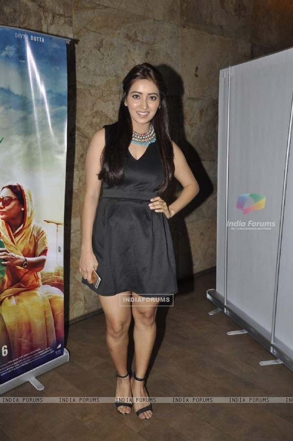 Asha Negi at Screening of 'Chalk N Duster'