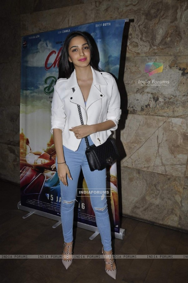 Kiara Advani at Screening of 'Chalk N Duster'