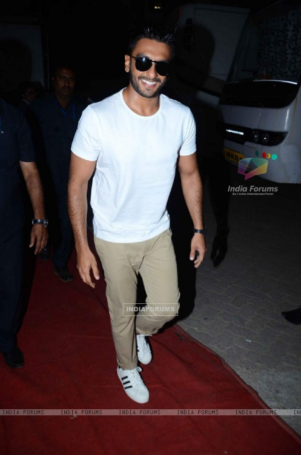 Ranveer Singh Snapped at Mehboob Studio!