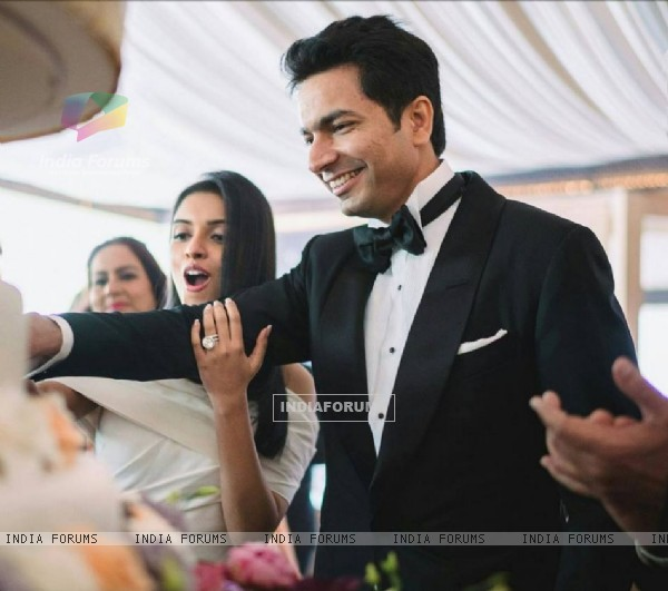Asin Thottumkal and Rahul Sharma's Wedding pics