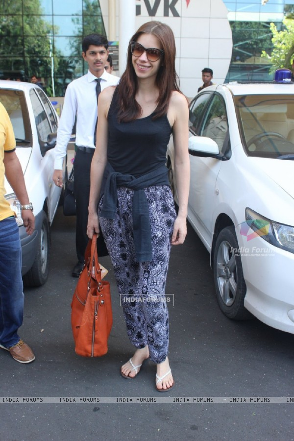 Kalki Koechlin Snapped at Airport