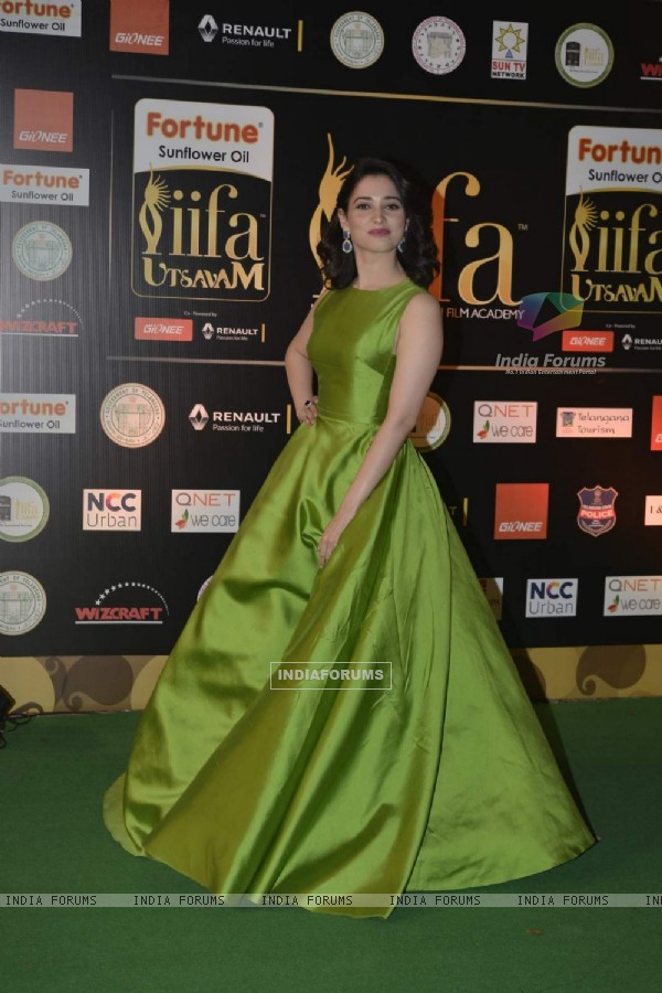 Tamannaah Bhatia at IIFA Utsavam Day 1