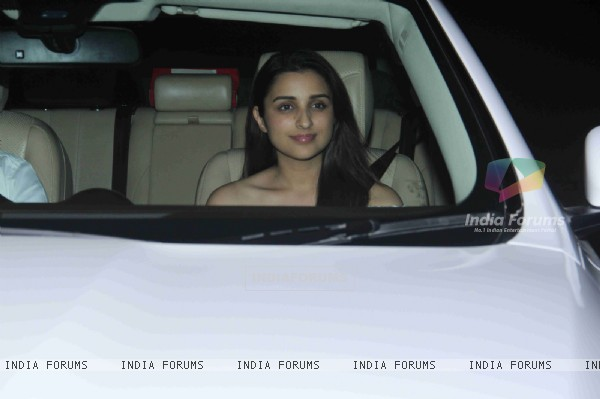 Parineeti Chopra at Manish Malhotra's Bash