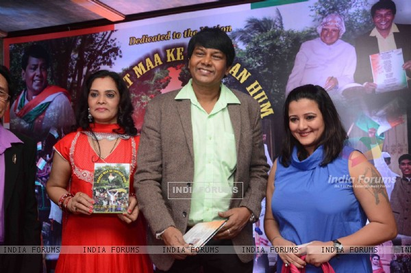 Rosh Tantia and Smita Singh at Song Launch of Hemant Tantia for Republic Day