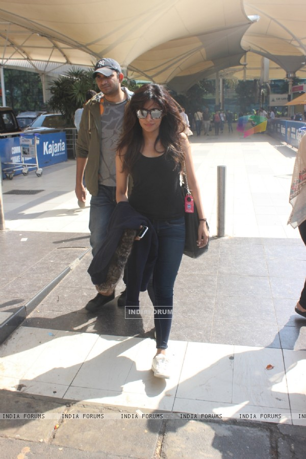 Sizzling Chitrangda Singh Snapped at Airport